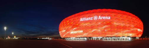 Allianz Arena, Munich. De Meuron and Herzog architects. 2005.