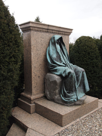 Augustus Saint-Gaudens. Adams Memorial.