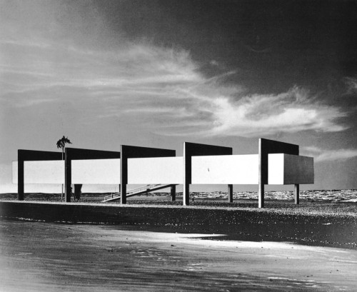 Lina Bo Bardi, architect. Museum on the Beach, Brazil. 1951