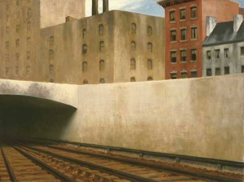 "Edward Hopper ""Approach to a City"" 1946"
