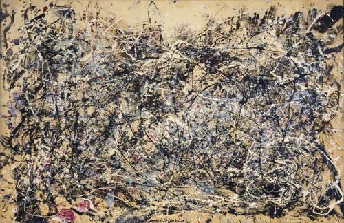 Jackson Pollock, #1, 1948