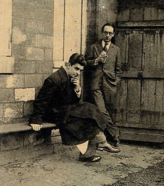 Jacques Lacan, & Henri Ey à Sainte-Anne.