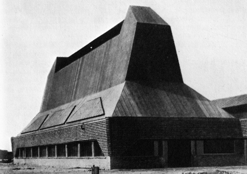 Eric Mendelsohn, architect. Hat Factory, Luckenwald. 1921