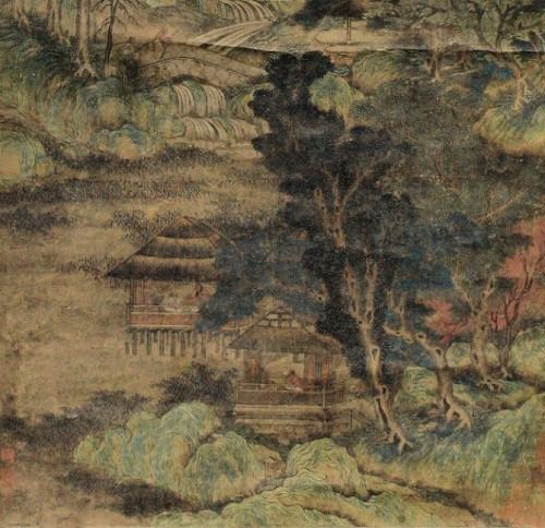 Li Sixun (Li Ssu-hsün ) Northern Tang Dynasty.  651-716.