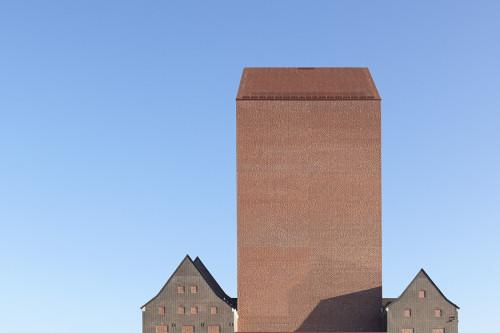 NSW Archives, Duisburg, Germany. Ortner & Ortner architecture. (Nils Koenig photog.)