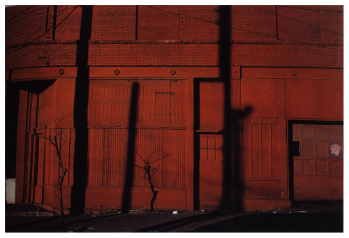 Harry Callahan, photography. Kansas City, 1981.