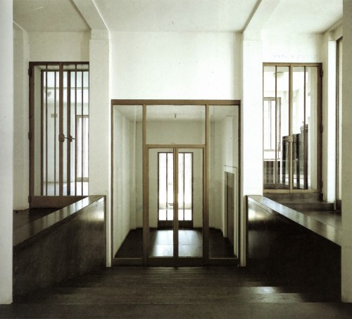 Wittgenstein House, interior. (photo courtesy of dreizehn-magazin)