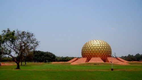 Auroville, Tamil Nadu, India. Roger Anger architect/designer.