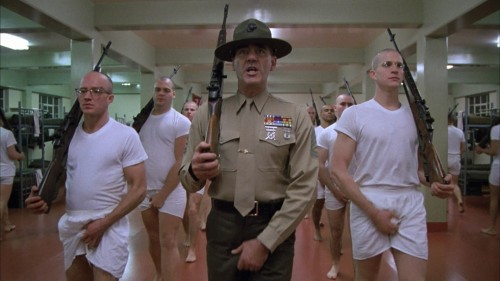 """Full Metal Jacket"" (1987). Stanley Kubrick, dr."