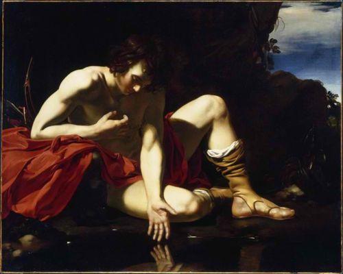 Gerard Van der Kuijl. 'Narcssus'. 1640.