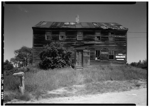 Gerda Peterich, photography. (John Hunter Tavern, Topsham Sagadahoc County ME(