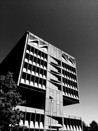 Pirelli Tire bldg. Marcel Breuer, architect. 1969