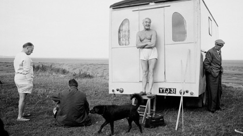 Tony Roy Jones, photography. Near Morecambe, 1967.