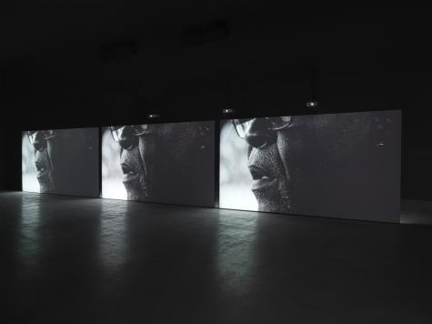 Adam Pendleton, installation.