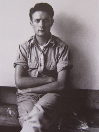 Kenneth Noland, at Black Mountain College.