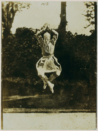 Vaslav Nijinsky, 1916. Eugene Druet, photography.