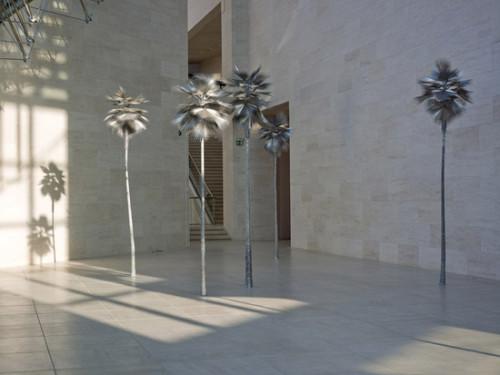 David Zink Yi, installation  MUDAM, Luxembourg.