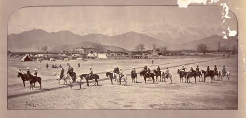 John Burke, photography. (Sherpur, 1879).