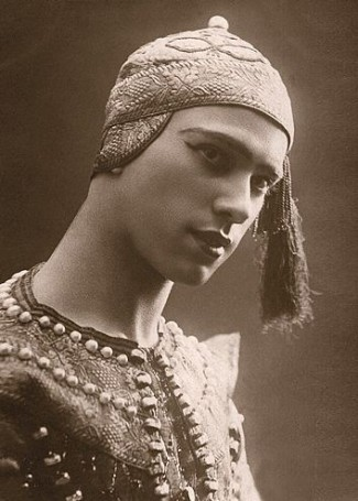 Nijinsky, 1910. Eugene Druet, photography.