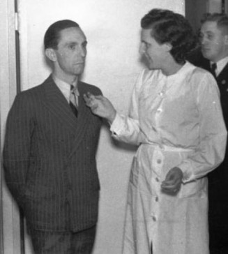 Goebbels & Riefenstahl, 1937.