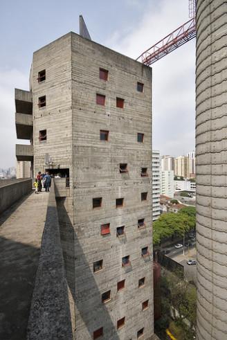 SESC Pompeia São Paulo, Lina Bo Bardi, architect.