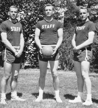 Donald Trump, at military school.