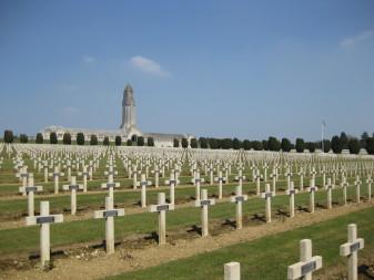Douaumont Ossuary, and Cemetary. Verdun.