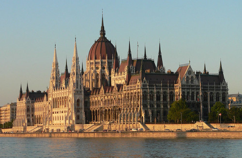 Hungarian Parliament,   Imre Steindl architect.  1904.