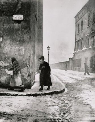 Roman Vishniac, photography. Krakow, 1938.