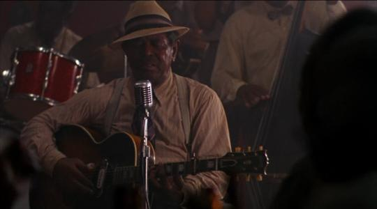 Angel Heart (Alan Parker, dr. 1987). Brownie McGhee's great cameo.