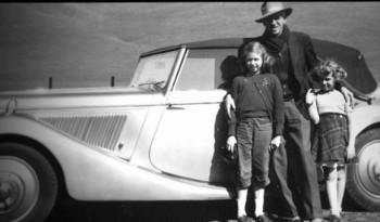 Clyfford Still & daughters.