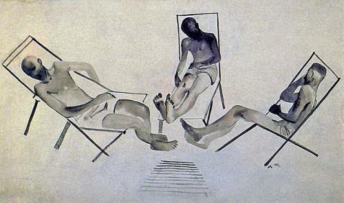 Alexander Deineka, 1928.