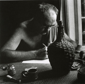 Charles Olson (photo Jonathan Williams).