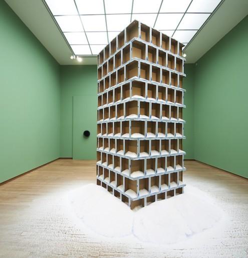 Navid Nuur (installation at Bonnefanten, Museum Maastricht, 2013)