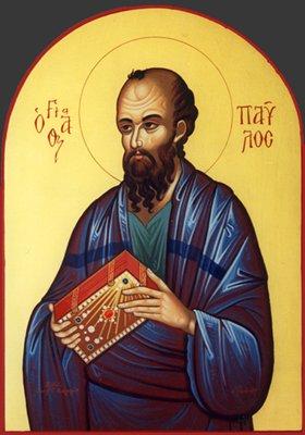 St. Paul icon, Russia, 19th century.