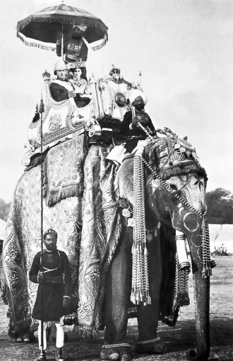 Lord and Lady Curzon. Delhi. 1902.