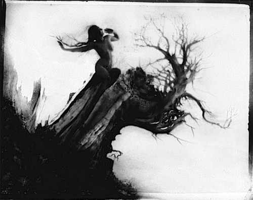 Anne Brigman, photography. 1910.
