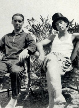 Lorca and Dali, 1927.