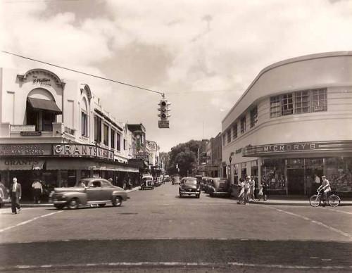 Orlando, 1930s. Downtown.