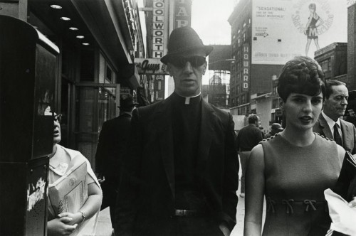 Paul McDonough, photography (Priest with dark glasses, NYC 1970).