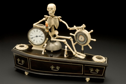 Alarm Clock, late 19th century  ( British Musuem).
