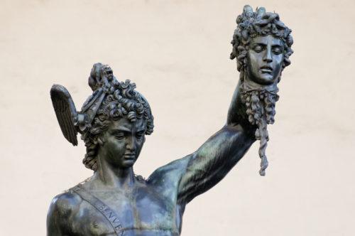 Benvenuto Cellini (Perseus 1545-54 ).