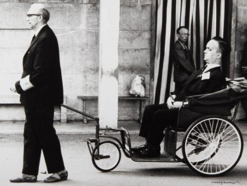Mario Giacomelli, photography. (1950).