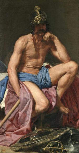 Diego Velazquez (Mars Resting). 1638.