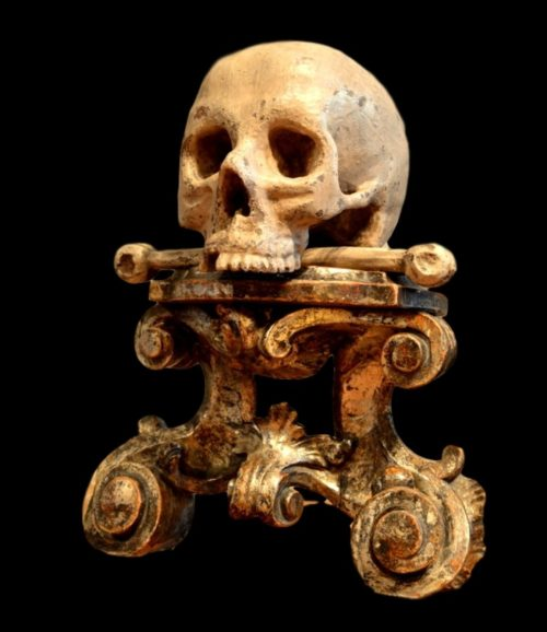 Momento Mori, southern Germany, 17th century.