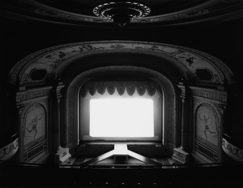 Hiroshi Sugimoto, photography (Cabot St Theatre).