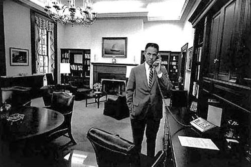 Chief of Staff H.R. Haldeman, 1970.