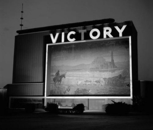 Photographer unknown. Victory Drive-In, southern Califoprnia.