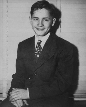 Charles Manson, age 16.