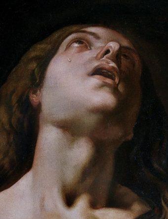 Jerimo Jacinto de Espinosa (Penitent Magdalene, detail. 1650).